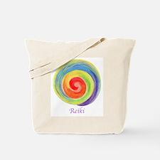 Reiki Colors Tote Bag