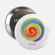 "Reiki Colors 2.25"" Button"