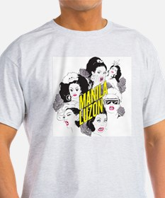 The Many Faces of Manila Men's T-Shirt