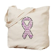 CF Words Ribbon Tote Bag