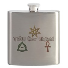 Official TOVA New England Flask