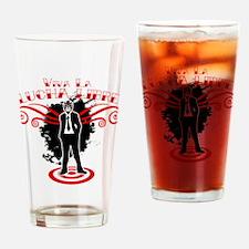 Viva Lucha Libre Drinking Glass