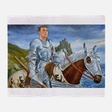 Ride Forth Throw Blanket