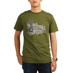 Climbing Words Organic Men's T-Shirt (dark)