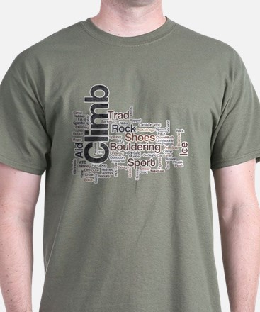 Climbing Words T-Shirt