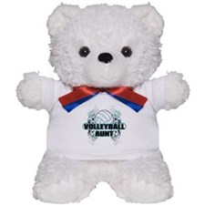 Volleyball Aunt (cross).png Teddy Bear