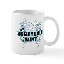 Volleyball Aunt (cross).png Mug