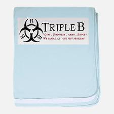triple b logo.png baby blanket
