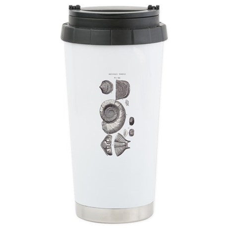 DEVONIAN FOSSILS Stainless Steel Travel Mug