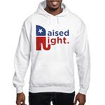 Raised Right Hooded Sweatshirt