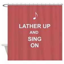Singers Musical Shower Curtain