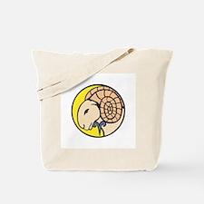 Aries Ram Tote Bag
