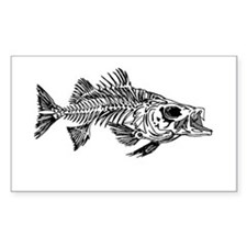 Striped Bass Skeleton Decal
