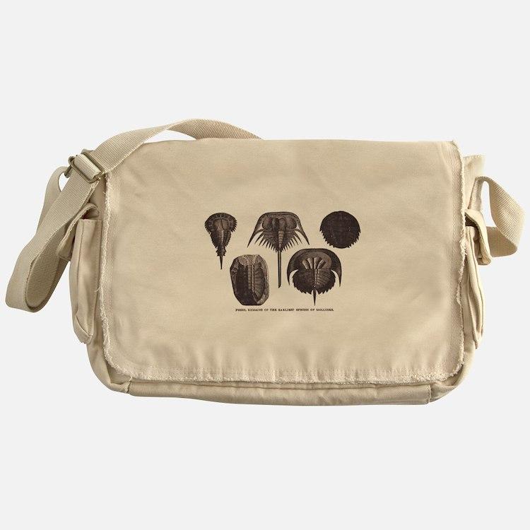 Trilobites Messenger Bag