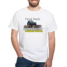 Paved Roads Ash Grey T-Shirt T-Shirt