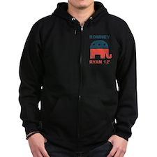 Romney Ryan 2012 Zip Hoodie
