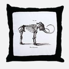 Mamoth.psd Throw Pillow