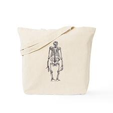 Gorilla Skeleton Tote Bag