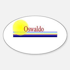 Oswaldo Oval Decal