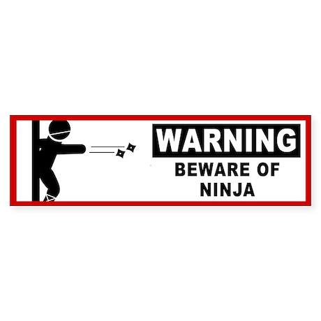 Beware of Ninja (Bumper)