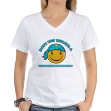 Cute Kazakhstani Smiley Design Shirt