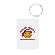 Cute Kuwaiti Smiley Design Keychains
