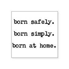 Homebirth Advocacy Sticker