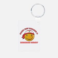 Cute Lebanese Smiley Design Keychains