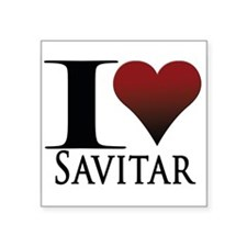 "Savitar Square Sticker 3"" x 3"""