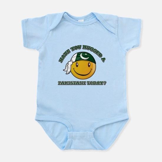 Cute Pakistani Smiley Design Infant Bodysuit