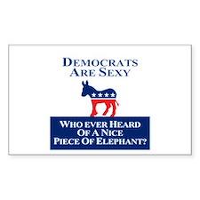 Democrats Are Sexy Bumper Stickers