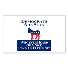 Democrats Are Sexy Decal