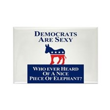 Democrats Are Sexy Rectangle Magnet (10 pack)