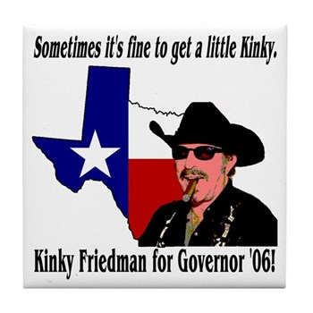Texas Governor '06 Tile Coaster