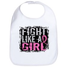 Licensed Fight Like a Girl 31.8 Bib
