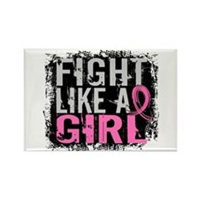 Licensed Fight Like a Girl 31.8 Rectangle Magnet