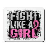 Fight like a girl Classic Mousepad