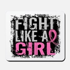 Licensed Fight Like a Girl 31.8 Mousepad