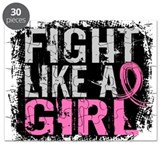 Fight like a girl Puzzles