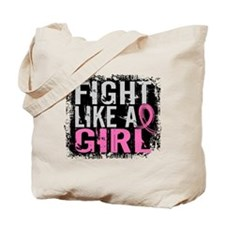 Licensed Fight Like a Girl 31.8 Tote Bag