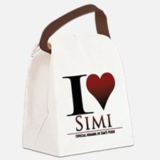 Love Simi Canvas Lunch Bag