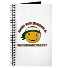 Cute Tajikistani Smiley Design Journal