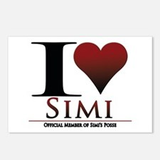 Love Simi Postcards (Package of 8)