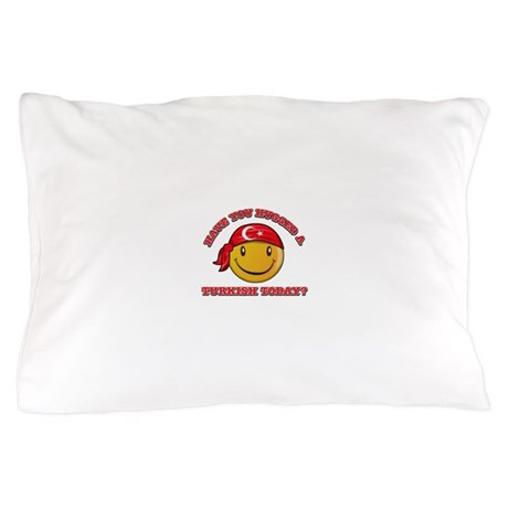Cute Turkish Smiley Design Pillow Case