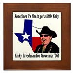 Texas Governor '06 Framed Tile