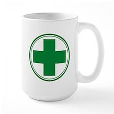 Green Cross Mug