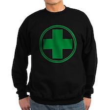 Green Cross Sweatshirt