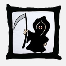 Reapers Apprentice Throw Pillow