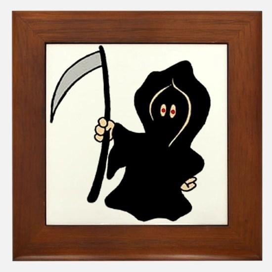 Reapers Apprentice Framed Tile