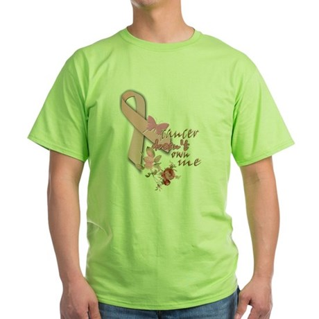 cancer DOESN'T own me: Green T-Shirt